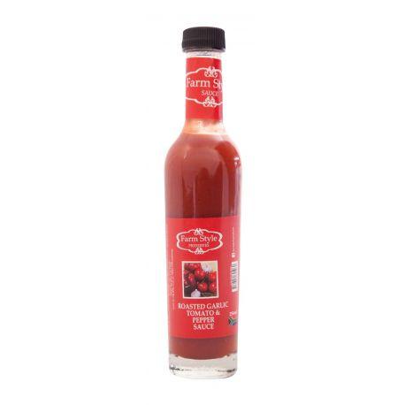 Farm Style Garlic Tomato and Pepper Sauce 250ml