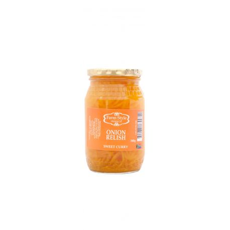 Farm Style Sweet Curry Onion Relish 250ml