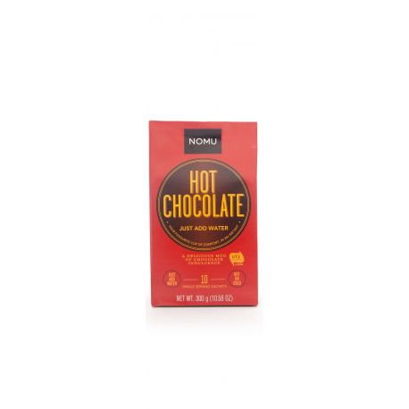 Nomu Hot Chocolate Just Add Water 10x30g Sachets