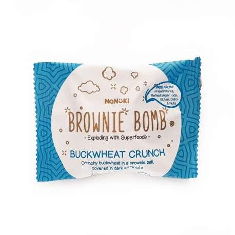 Nanuki Brownie Bomb Buckwheat Crunch 35g