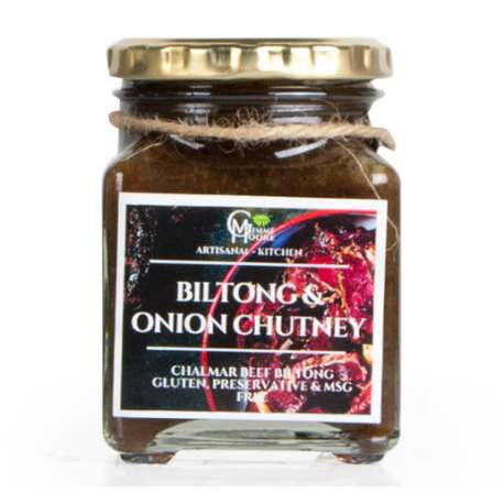 Gimme Moore Biltong & Onion Chutney 350g