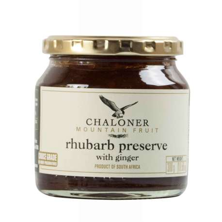 Chaloner Rhubarb and Ginger Preserve 300g